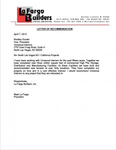 La Fargo Builders, Inc